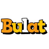 Bulat cartoon logo