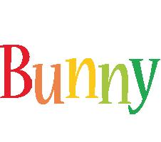 Bunny birthday logo