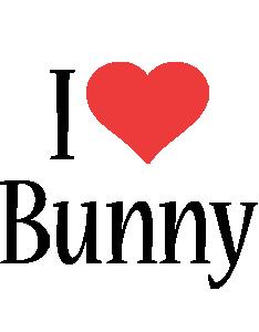 Bunny i-love logo