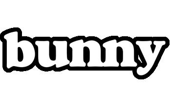 Bunny panda logo