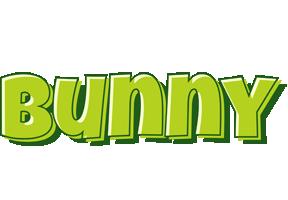 Bunny summer logo