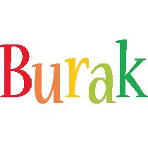 Burak birthday logo