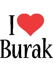 Burak i-love logo