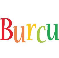 Burcu birthday logo