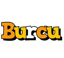 Burcu cartoon logo