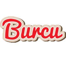 Burcu chocolate logo