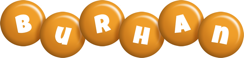 Burhan candy-orange logo