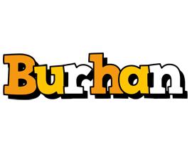Burhan cartoon logo