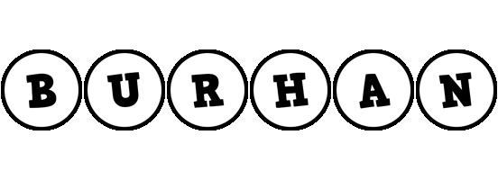 Burhan handy logo