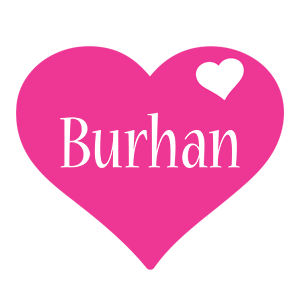 Burhan love-heart logo