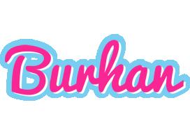 Burhan popstar logo