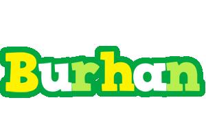 Burhan soccer logo