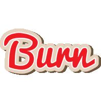 Burn chocolate logo