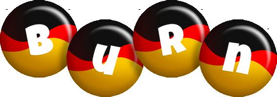 Burn german logo