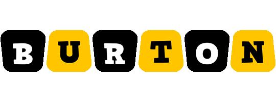 Burton boots logo