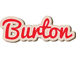 Burton chocolate logo