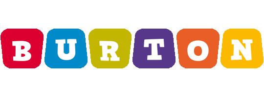 Burton daycare logo