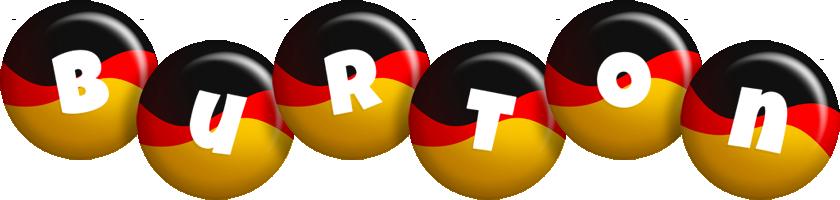 Burton german logo