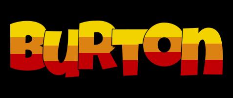 Burton jungle logo