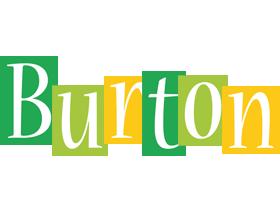 Burton lemonade logo