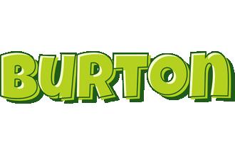 Burton summer logo