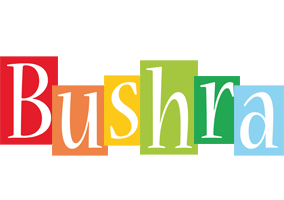 Bushra colors logo
