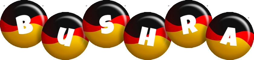 Bushra german logo