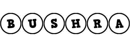 Bushra handy logo