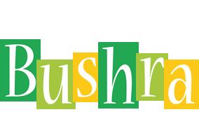 Bushra lemonade logo