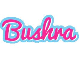 Bushra popstar logo