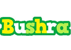 Bushra soccer logo