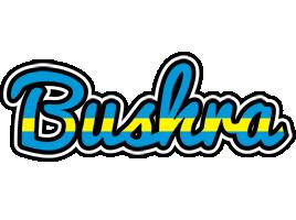 Bushra sweden logo