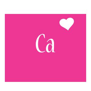 Ca Love Heart Logo