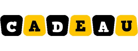 Cadeau boots logo