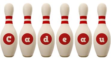 Cadeau bowling-pin logo