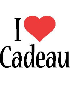 Cadeau i-love logo