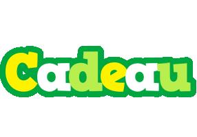 Cadeau soccer logo