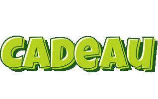 Cadeau summer logo