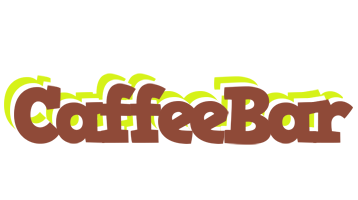 CAFFEEBAR logo effect. Colorful text effects in various flavors. Customize your own text here: https://www.textGiraffe.com/logos/caffeebar/