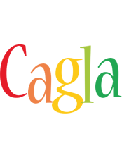 Cagla birthday logo