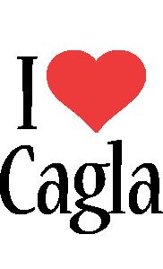Cagla i-love logo