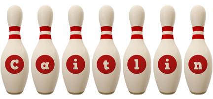 Caitlin bowling-pin logo