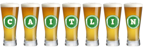 Caitlin lager logo