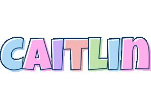 Caitlin pastel logo