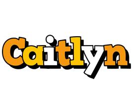 Caitlyn cartoon logo