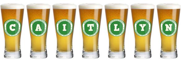 Caitlyn lager logo