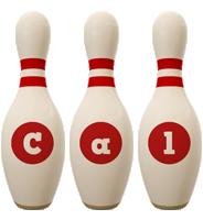 Cal bowling-pin logo