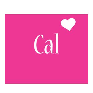 Cal love-heart logo