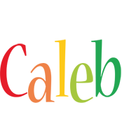 Caleb birthday logo