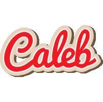 Caleb chocolate logo